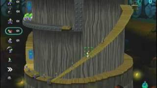 Lemmings Revolution Level 8-4