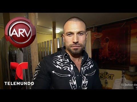Rafael Amaya sorprende a sus  en Monterrey  Al Rojo Vivo  Telemundo