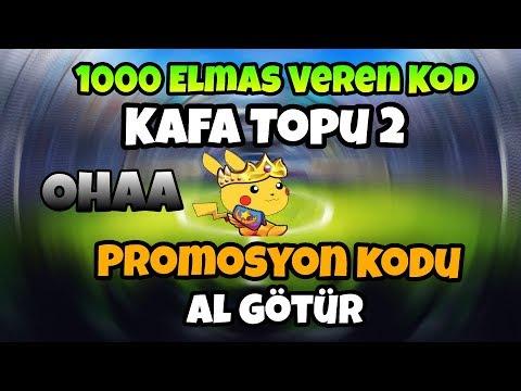 1000 ELMAS VEREN PROMOSYON KODU ONLİNE KAFA TOPU 2 // SINIRSIZ KOD