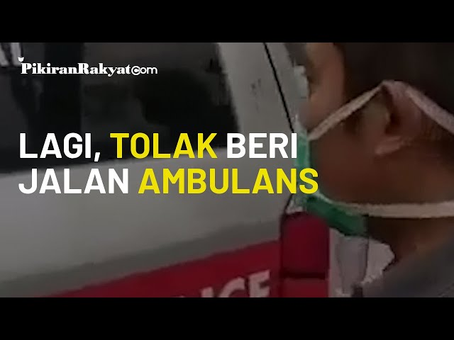 Lagi, Viral Video Pengemudi Mobil Tolak Beri Jalan Pada Ambulans yang Tengah Bawa Jenazah di Jateng
