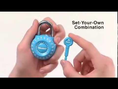 6ce60edc12e3 Master Lock 1590D Combination Padlocks | Informational