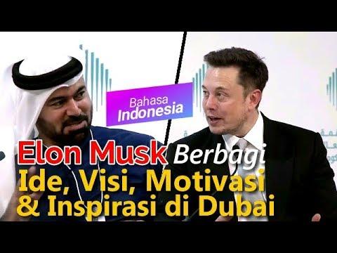 [Full] Wawancara Elon Musk di World Government Summit 2017 Sub Indonesia