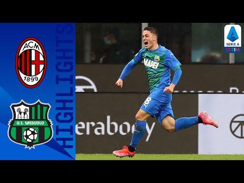Milan 1-2 Sassuolo | Raspadori Double Grants Sassuolo Victory Away | Serie A TIM