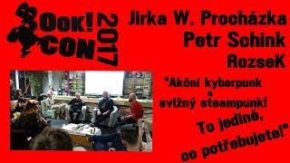 BC2017 Jirka Walker Procházka a Petr Schink - Akční kyberpunk a svižný steampunk!