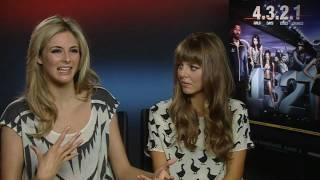 Tamsin Egerton talks about her sex scene