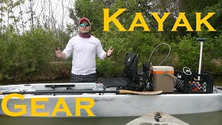 Kayaking Gear - Kayak Fishing For Beginners   Gear and Accessories