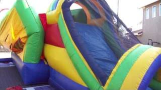 Bounce House Rentals Sacramento 916-813-JUMP Jumper Combo Bounce House Rental Roseville