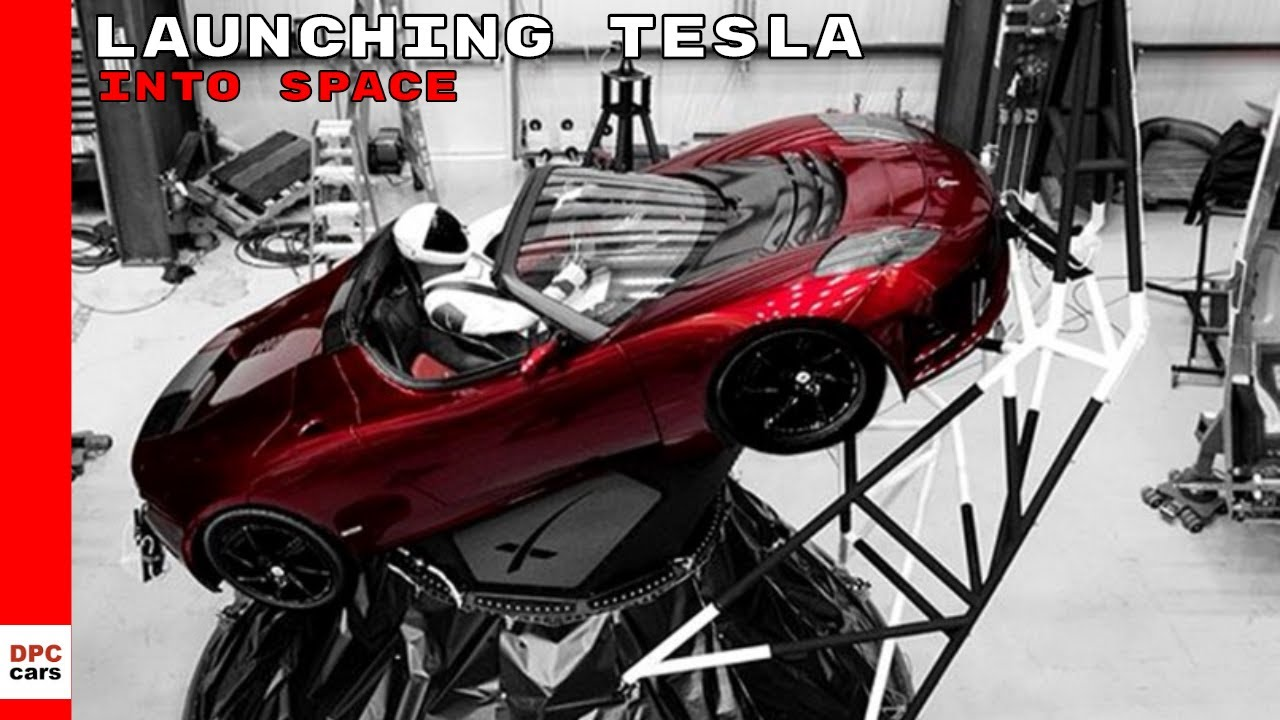 Ex Launching Tesla Roadster Into E Footage