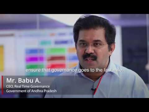 2018 Hitachi Transformation Award Winner: State of Andhra Pradesh Real Time Governance