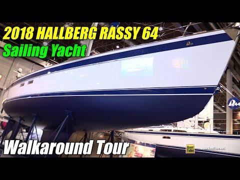 2018 Hallberg Rassy 64 Sailing Yacht - Walkaround - 2018 Boot Dusseldorf Boat Show