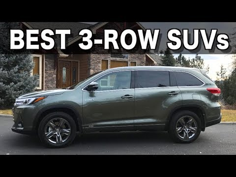 Best 3-Row SUVs of 2019