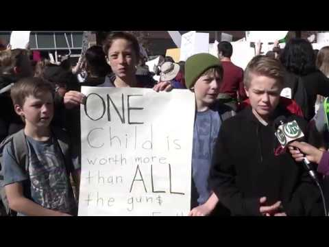 Students Walk Out Of Fort Collins Schools To Advocate For Gun Reform