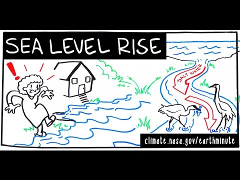 NASA's Earth Minute: Sea Level Rise