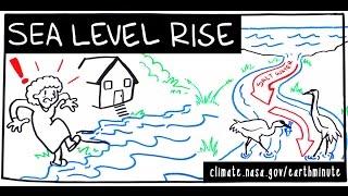 Nasa's Earth Minute: Sea Level Rise