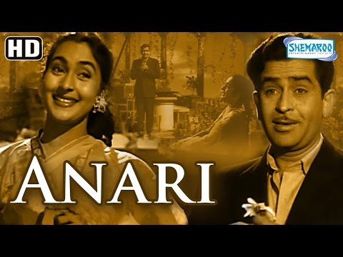 Anari (HD) - Raj Kapoor | Nutan | Lalita Pawar - Popular Bollywood Movie - (With Eng Subtitles)