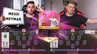 FIFA 17: RONALDO vs MESSI SUPER CUP SQUAD BUILDER SHOWDOWN 😈😱 vs FIFAGAMING 🔥
