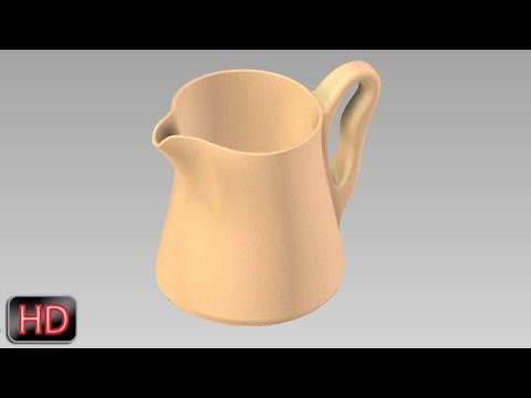 Sculpture Modelling with Autodesk Inventor (Surface/Sculpt Tutorial)