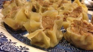 Siu Mai (shumai) Recipe - Pork And Shrimp Steamed Dumpling Dim Sum