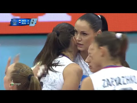 2015 Eurovolley Russia VS Netherlands Gold Medal Final Match European Volleyball