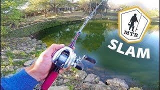 Neighborhood Pond Hopping For Urban Fish -- (MTB SLAM CHALLENGE)