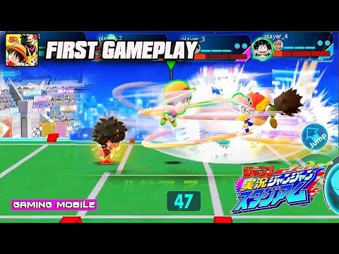 [Android/IOS] Weekly Shonen Jump: Jikkyou Janjan Stadium (ジャンスタ) - All Hero Konami Gameplay