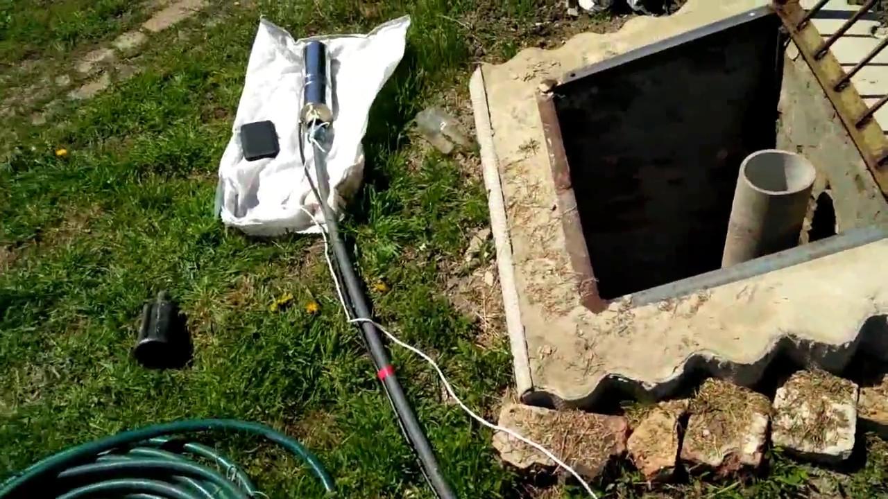 Как достать вибрационный насос если он застрял в скважине .