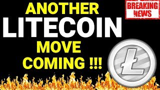 ANOTHER LITECOIN MOVE COMING! Litecoin technical analysis, litecoin news, litecoin today