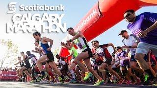 Scotiabank Calgary Marathon Official Promo Video 2015