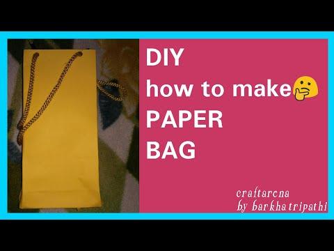 ||Paper Bag||❤ ||Easy DIY||❤how to make paper bag ||DIY goodies bag💕|| 😍||🍬 candy bag🤗||