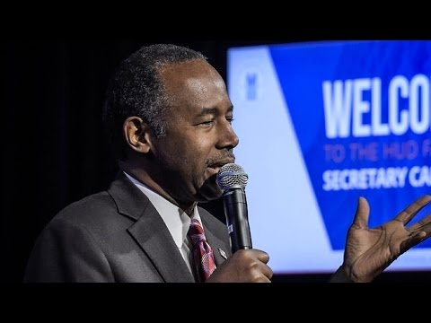 Ben Carson Says Slaves In America Were Just Low Wage Immigrants