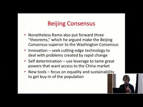 The China Model of Economic Development - 10th Annual China Conference