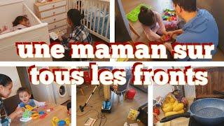 👨👩👧👦vlog famille🦸♀ MA JOURNÉE DE MAMAN, REPAS, ACTIVITÉS,MÉNAGE, une journée bien fatigante
