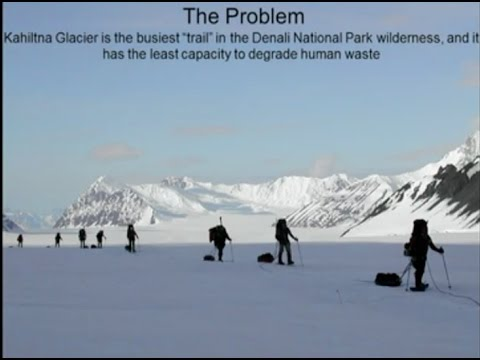 Michael Loso   Fate of Crevassed Human Waste on Denali
