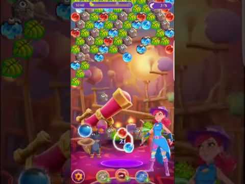 Bubble Witch 3 Saga Level 344 ~ No Boosters ⭐️⭐️