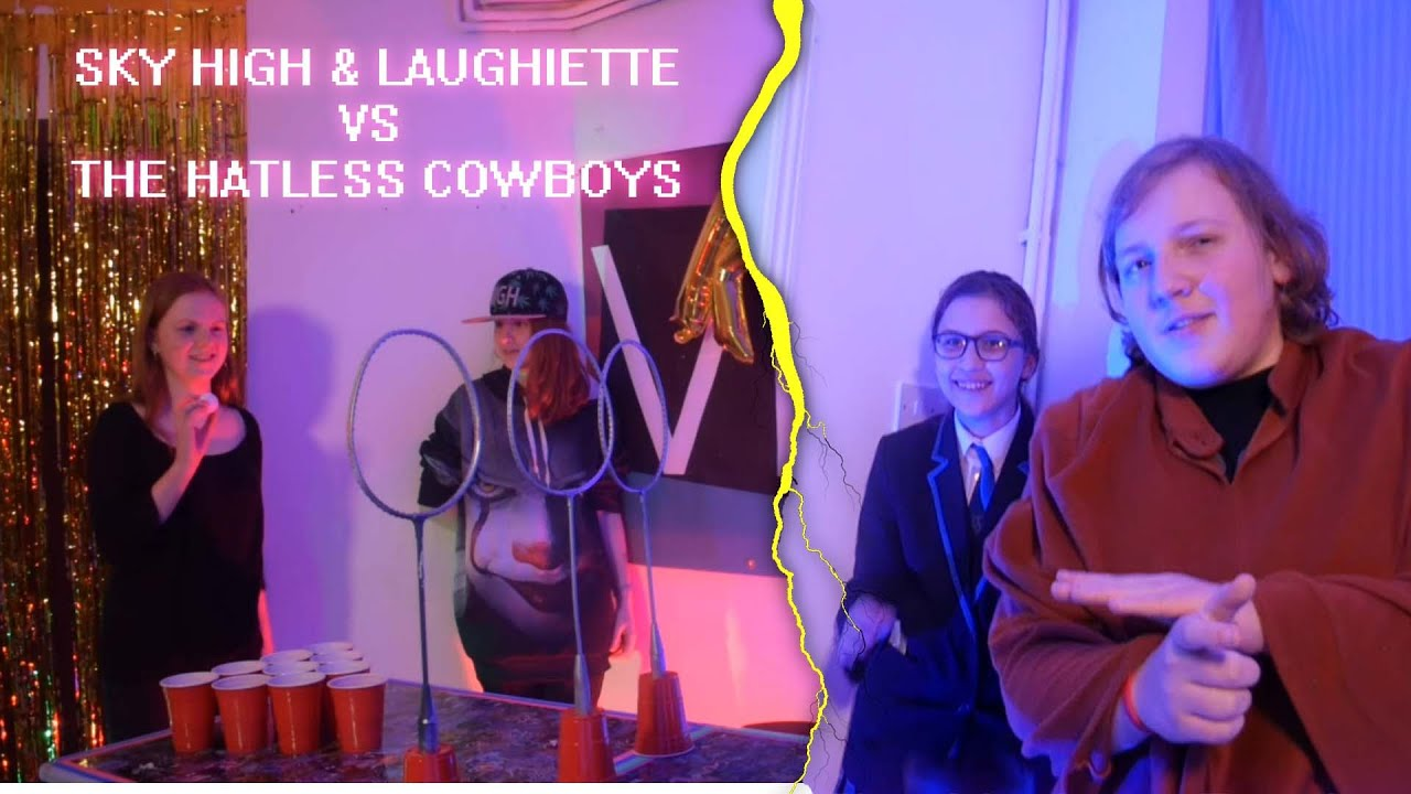 Quidditch Pong: The Hatless Cowboys vs SkyHigh and Laughiette