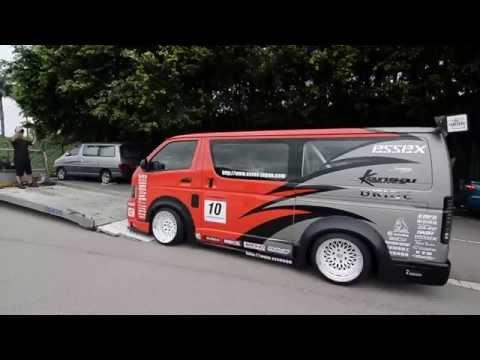 Toyota Hiace Drift Van @Hong Kong