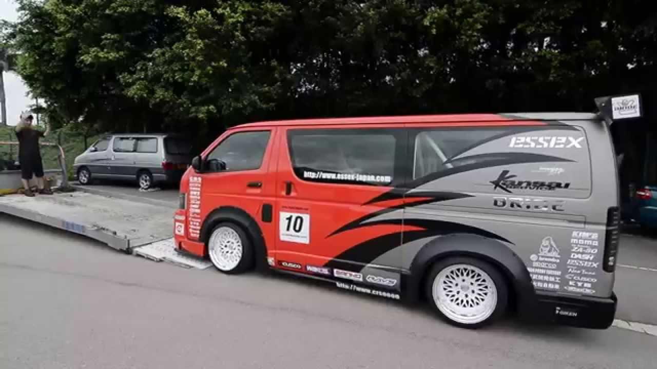 Toyota Hiace Drift Van Hong Kong Youtube