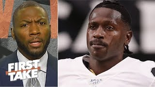 Ryan Clark calls out Antonio Brown for harping on helmet issue | First Take