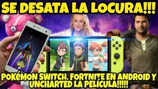 NOTICIAS EPICAAAS: UNA LOCURA! TONELADAS DE INFORMACION DE POKEMON EN SWITCH! FORTNITE Y MAS!