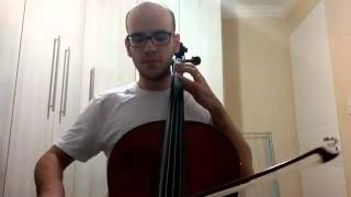 System of a Down - Aerials - Cello (Bass Line Cover)