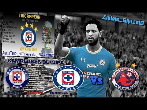 FIFA 17 Pro Clubs - VPN Cruz Azul - Liga Virtual Mexicana - Fixture 3!!!!!!