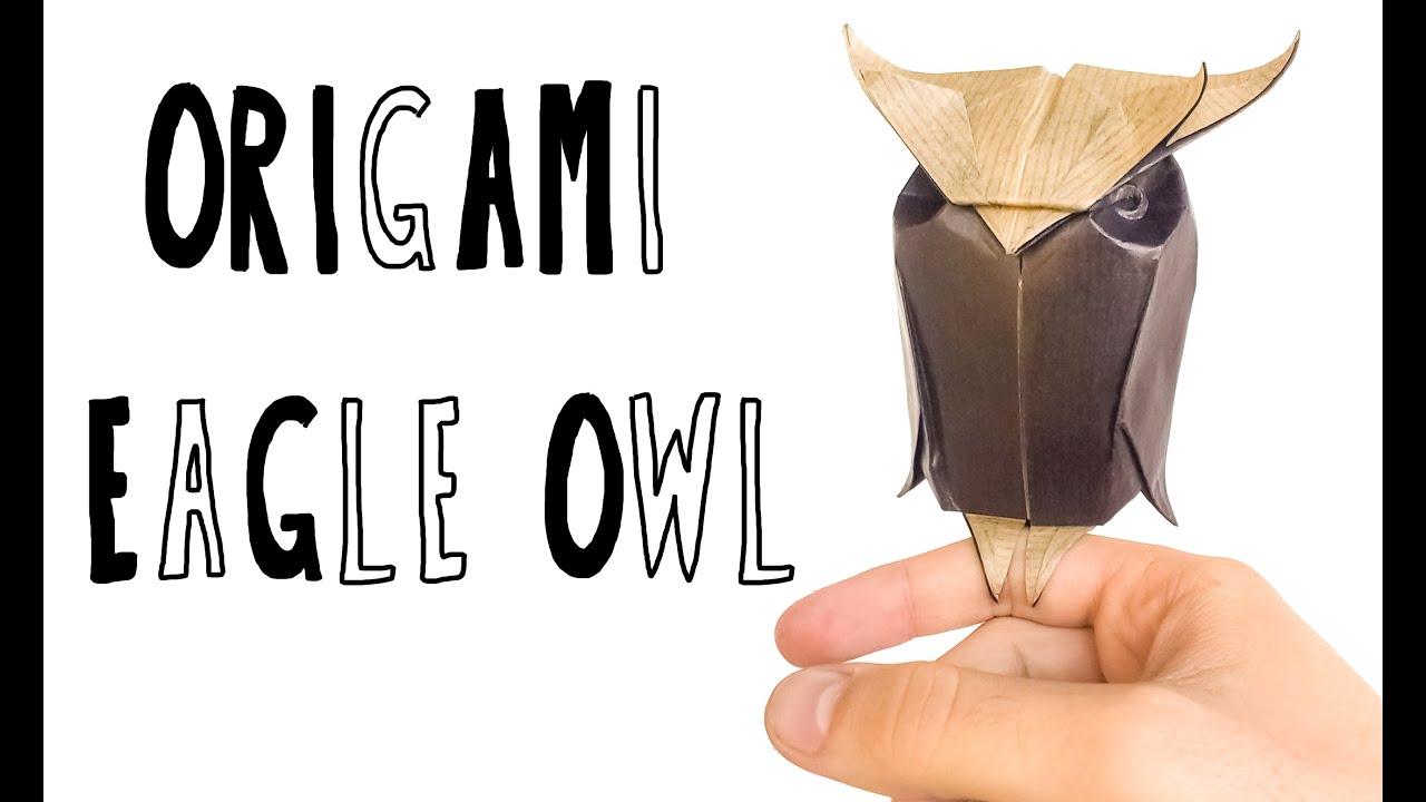 Baby Eagle-Owl Origami (Riccardo Foschi) - YouTube - photo#40