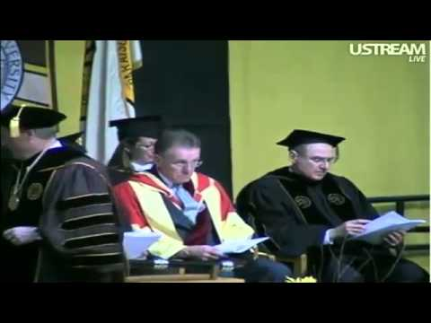 Valparaiso University 2011 Commencement; Electrical&Mechanical Engineering + College of Business
