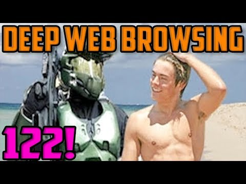 THE MASTER CHIEF CONSPIRACY!?! - Deep Web Browsing 122