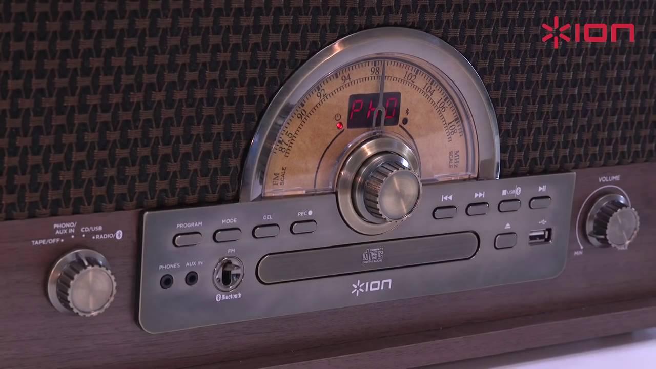 Wonderbaar ION Superior LP Platenspeler - YouTube DP-55