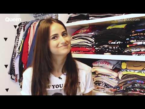 Mari Palma abre closet mostra coleção de camisetas e fala de tatuagens