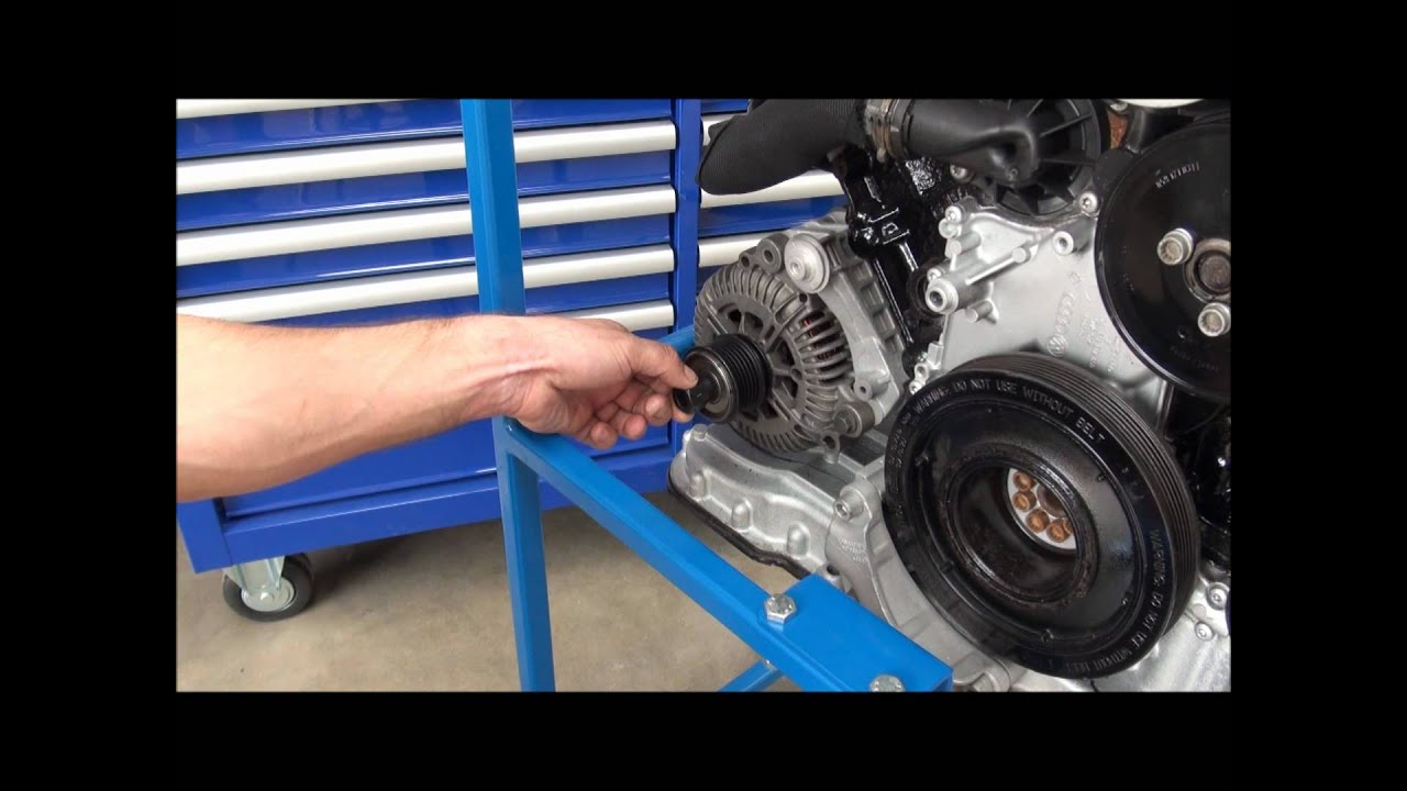 Alternator Pulley Remover Installer Kit Freewheel