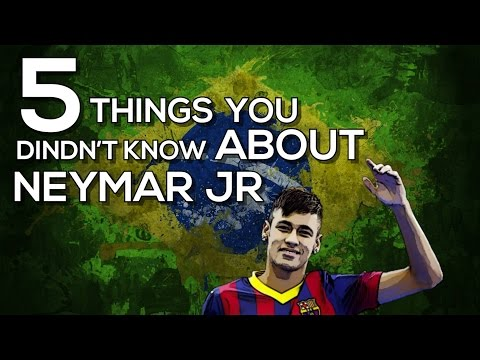 5 Things You Didn't Know About Neymar Jr! | FC Barcelona Stories