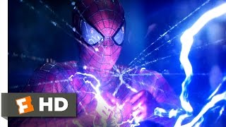 The Amazing Spider-Man 2 (2014) - Electro Overload Scene (8/10) | Movieclips