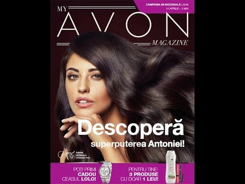My Avon Magazine Campania 6 12 Aprilie 2 Mai 2018 Youtube